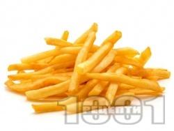 Бланширани картофи във вода за пържене - снимка на рецептата